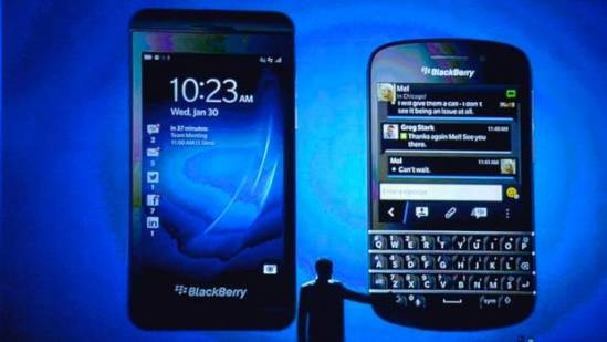 BlackBerry New Z 10 Q 10 QWERTY